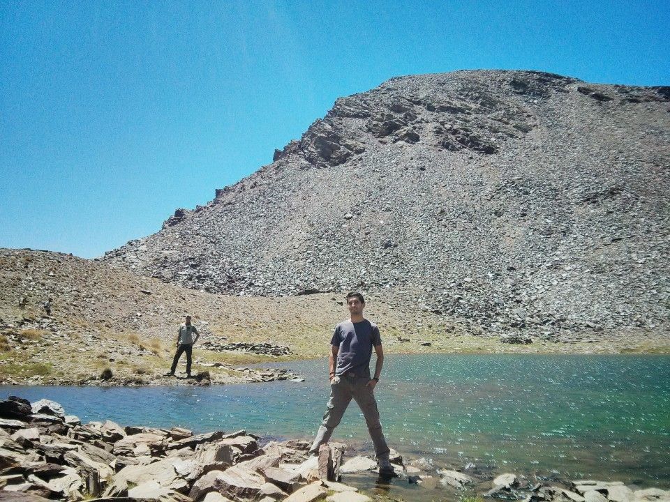 Laguna y cerro del Caballo